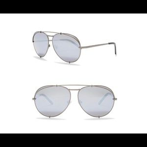 NEW ❤️ DIFF Eyewear Koko 63mm Sunglasses GUNMETAL